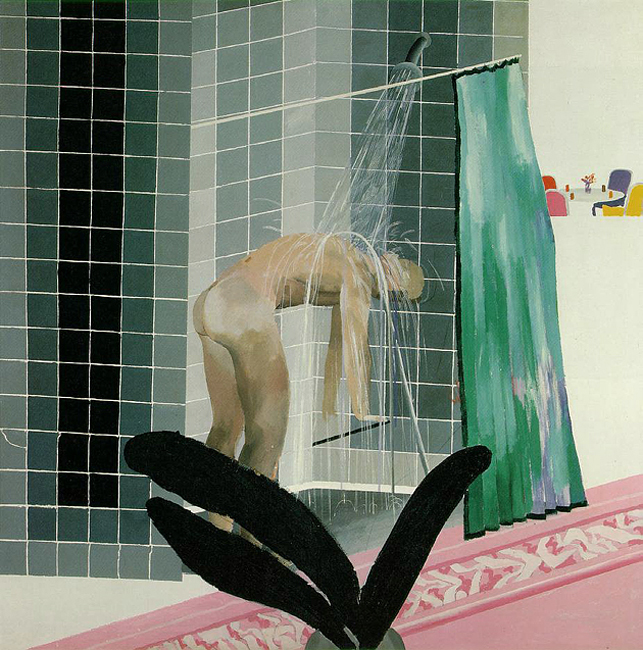 hockney-shower1
